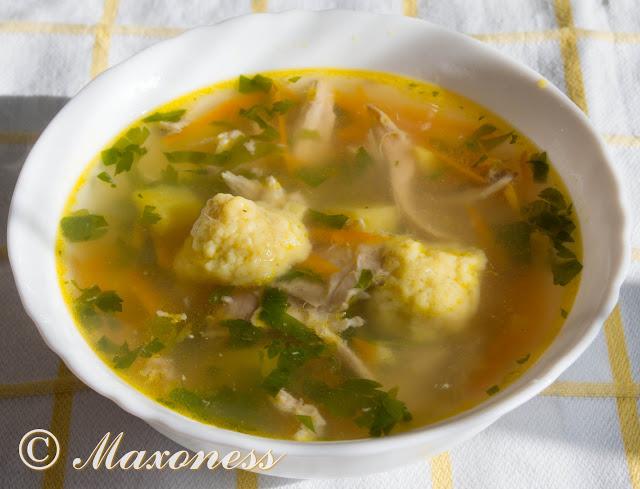 Как сварить суп с клецками пошаговый рецепт