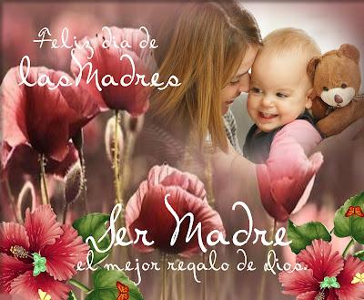 Ser madre es el mejor regalo de Dios.