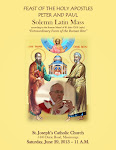 Holy Apostles Peter & Paul Solemn Latin Mass in the Extraordinary Form of the Roman Rite