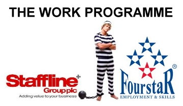 Staffline Group - FourstaR Recruitment  Work Programme protest