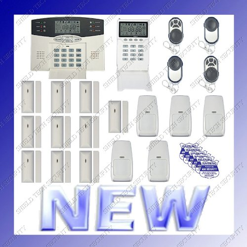 shield tech security wireless home security alarm system