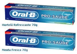 Oral-B amostra grátis