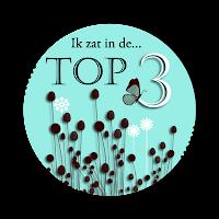 de top 3 gehaald met challenge #29!!