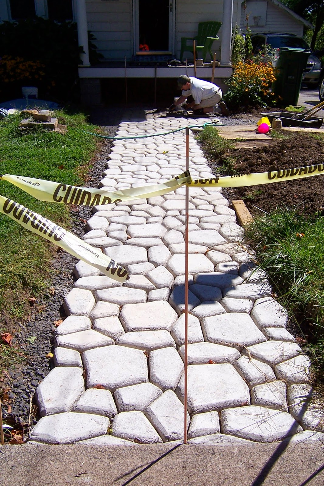 Homemade Paver Forms New 5 Piece Concrete Molds Forms Driveways