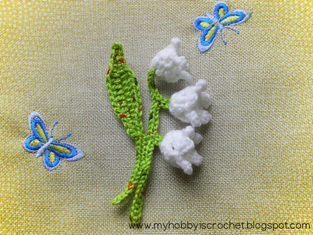 My Hobby Is Crochet 5 Free Crochet Flower Pattern Links