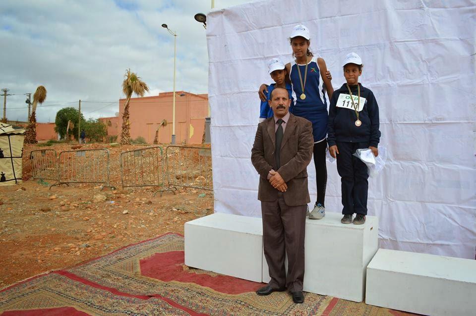 البطولة الإقليمية المدرسية للعدو الريفي بإقليم الرشيدية