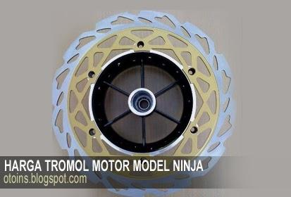 Rincian Harga Variasi Motor Tromol Ninja Terbaru 2015