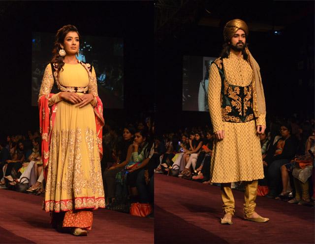 lakme fashion week shyamal bhumika lehenga sherwani