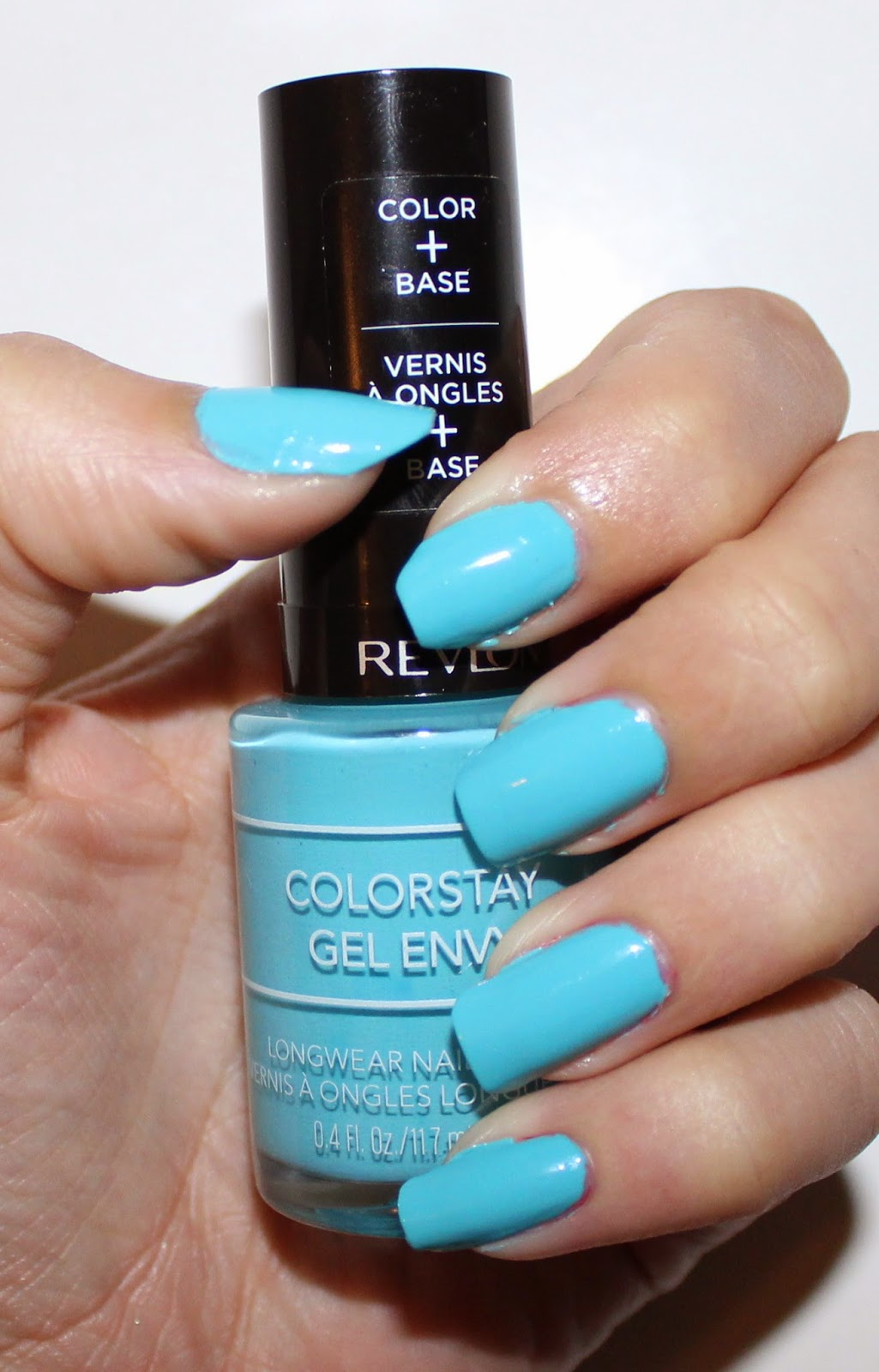 Revlon ColorStay Gel Envy Longwear Nail Enamel in Full House Swatch