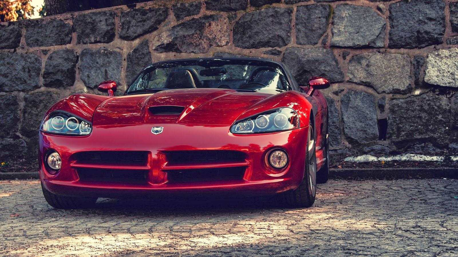 Red Dodge Viper Sport Car HD Wallpaper   Car Wallpaper ...