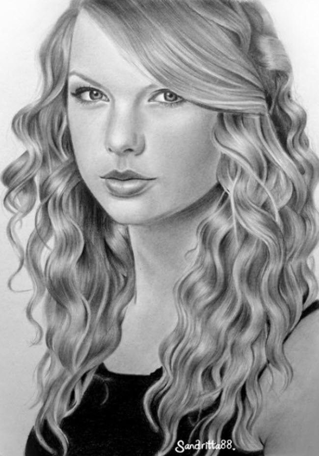 Celeb drawings picture 87