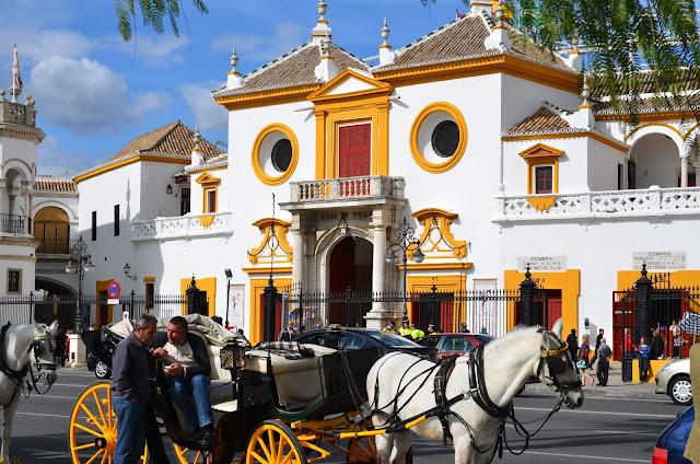 Andalousie -arènes de Séville
