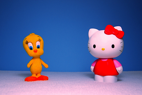 Cute Tweety and Kitty Toys