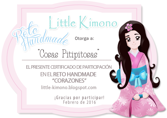Certificado Reto Handmade