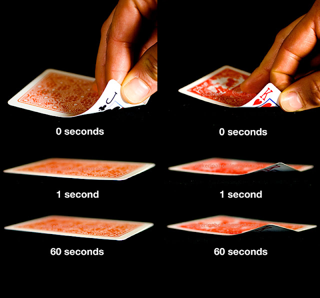 Poker vs bridge cards