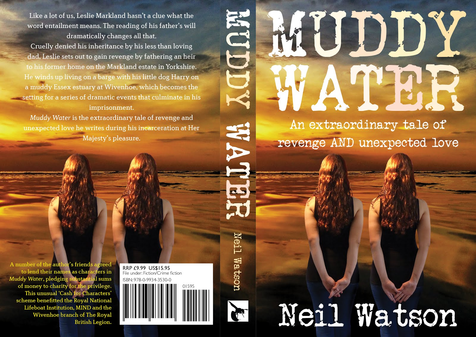 Muddy Water - the novel that I've written on board my boat
