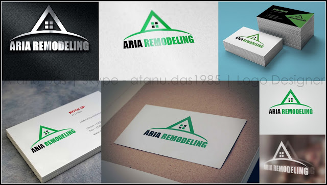 Real Estate Company Logo - Construction Company Logo - Logo Designer India - Australia Logo Design