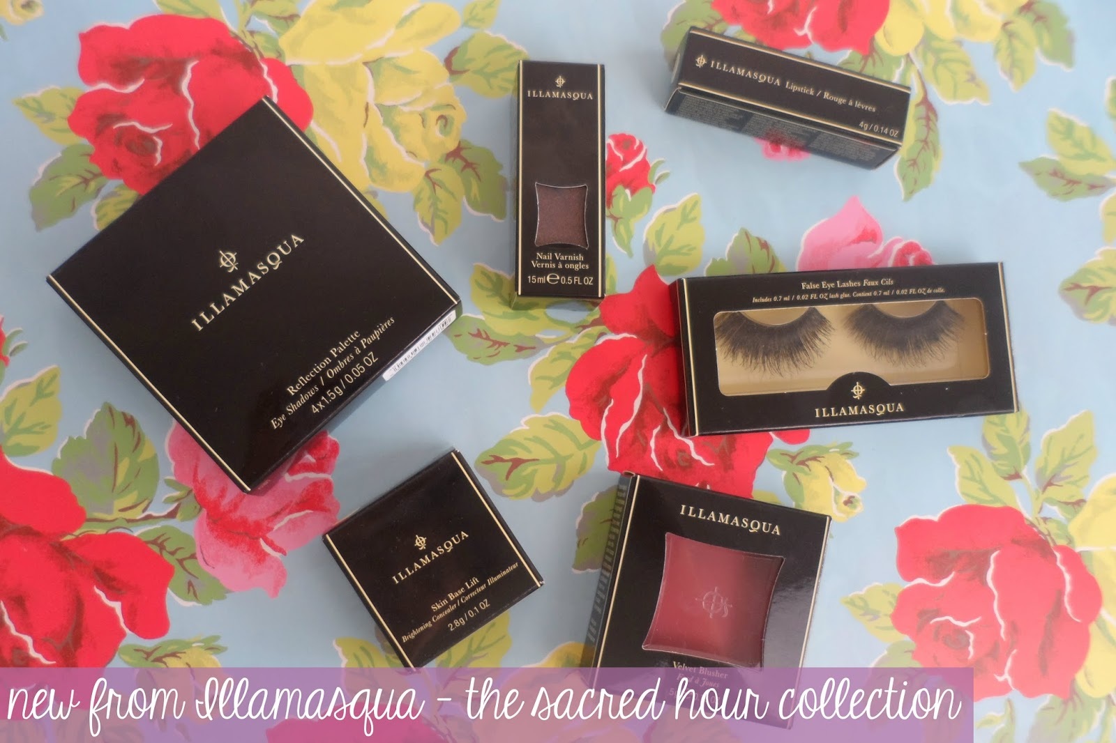 6d83e62457f The sacred hour collection from Illamasqua. I really meant to share this  collection with you a lot sooner, but work's really been getting in the way  of ...