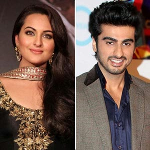 Sonakshi sinha and arjun kapoor in Tevar