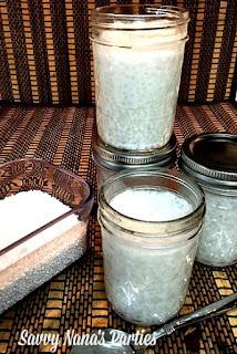 Vegan Coconut Tapioca Pudding