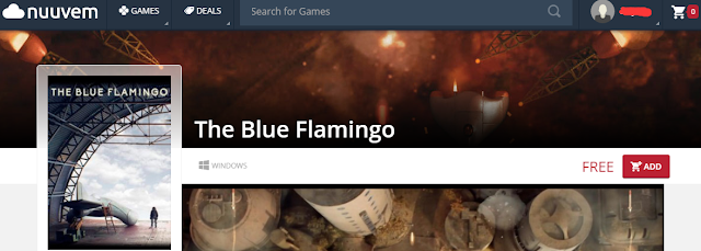 [Free] Get The Blue Flamingo From nuuvem