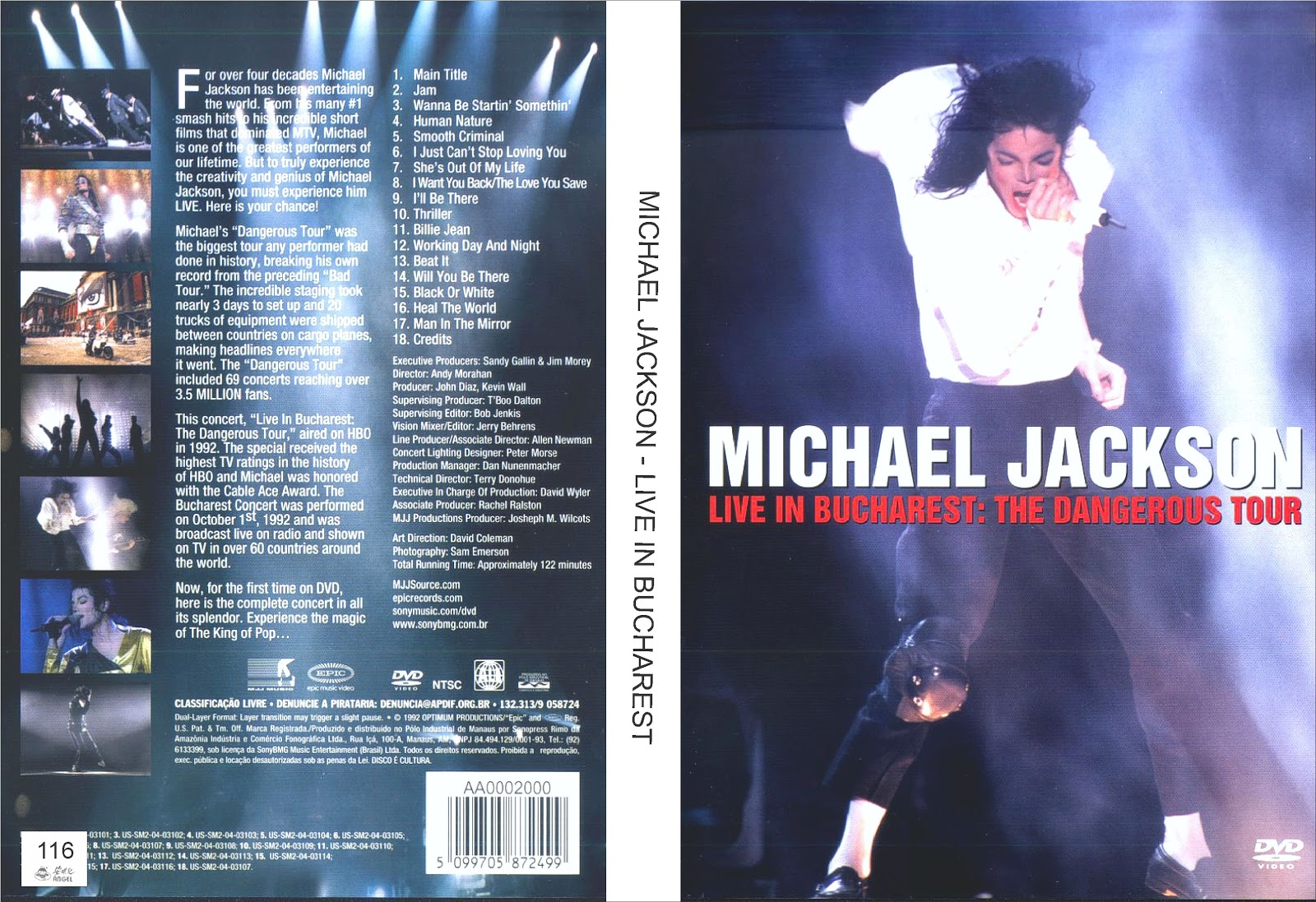 ... MICHAEL JACKSON - LIVE IN BUCHAREST - 116