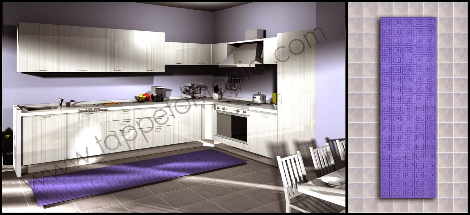 tappeti cucina colore rossi | tappetomania è su Ebay e ha le offerte ...