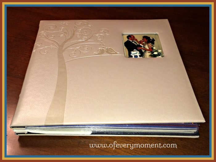 wedding anniversary photo album, gift
