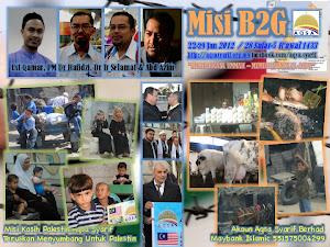Misi B2G Aqsa Syarif 2012