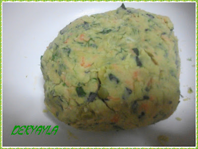 Sebzeli kurabiye