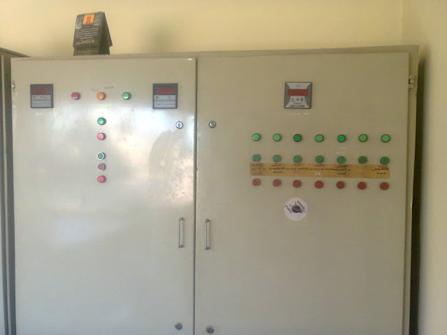 main electricl panel to control the whole sulfuric acid plant