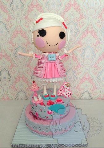 Sweet Lalaloopsy Cake by Joly Diaz of Viva La Cake