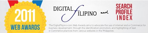 DigitalFilipino - Search Profile Index Web Awards 2011
