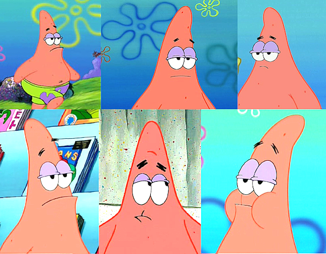 Patrick funny faces