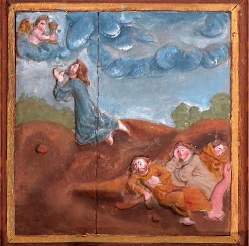 Jésus au mont des oliviers