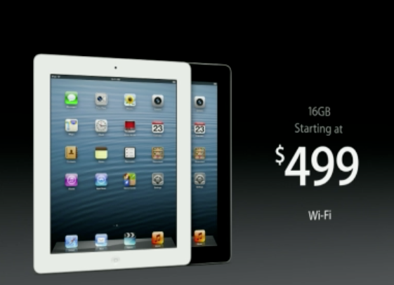 Harga Apple iPad 4 - Bulan September 2013 UPDATE!!!