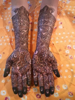 New Hand Mehndi Designs 2013-14