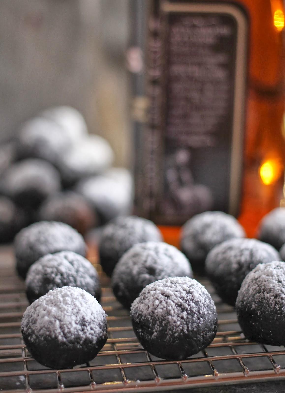 Arctic Garden Studio: Double Chocolate Bourbon Balls