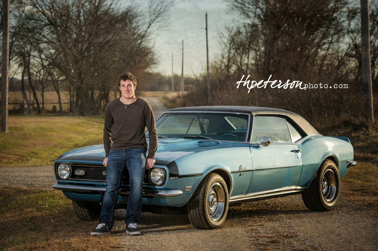 JT Lincoln Osage City HS Grad Topekas Best Senior Portrait - Osage city ks car show