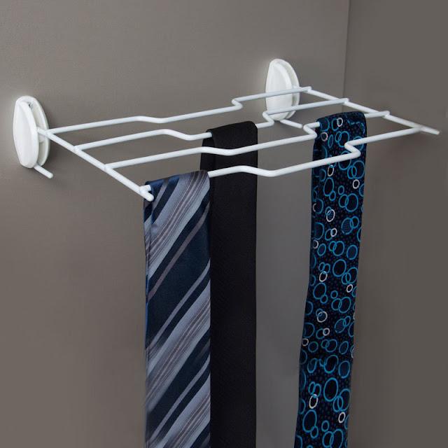 Organizador de gravatas aramado