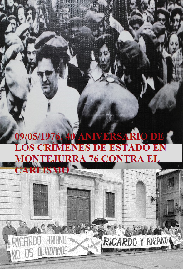 40 Aniversario de los Crímenes de Estado contra el Carlismo. Montejurra 76