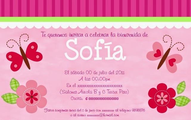 invitaciones para baby shower | Ser padres es facilisimo.com