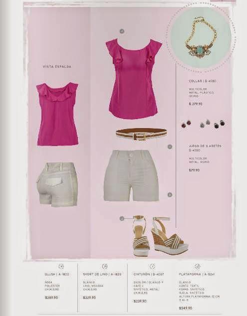 Outfit de Blusa y Short Stop P-2015