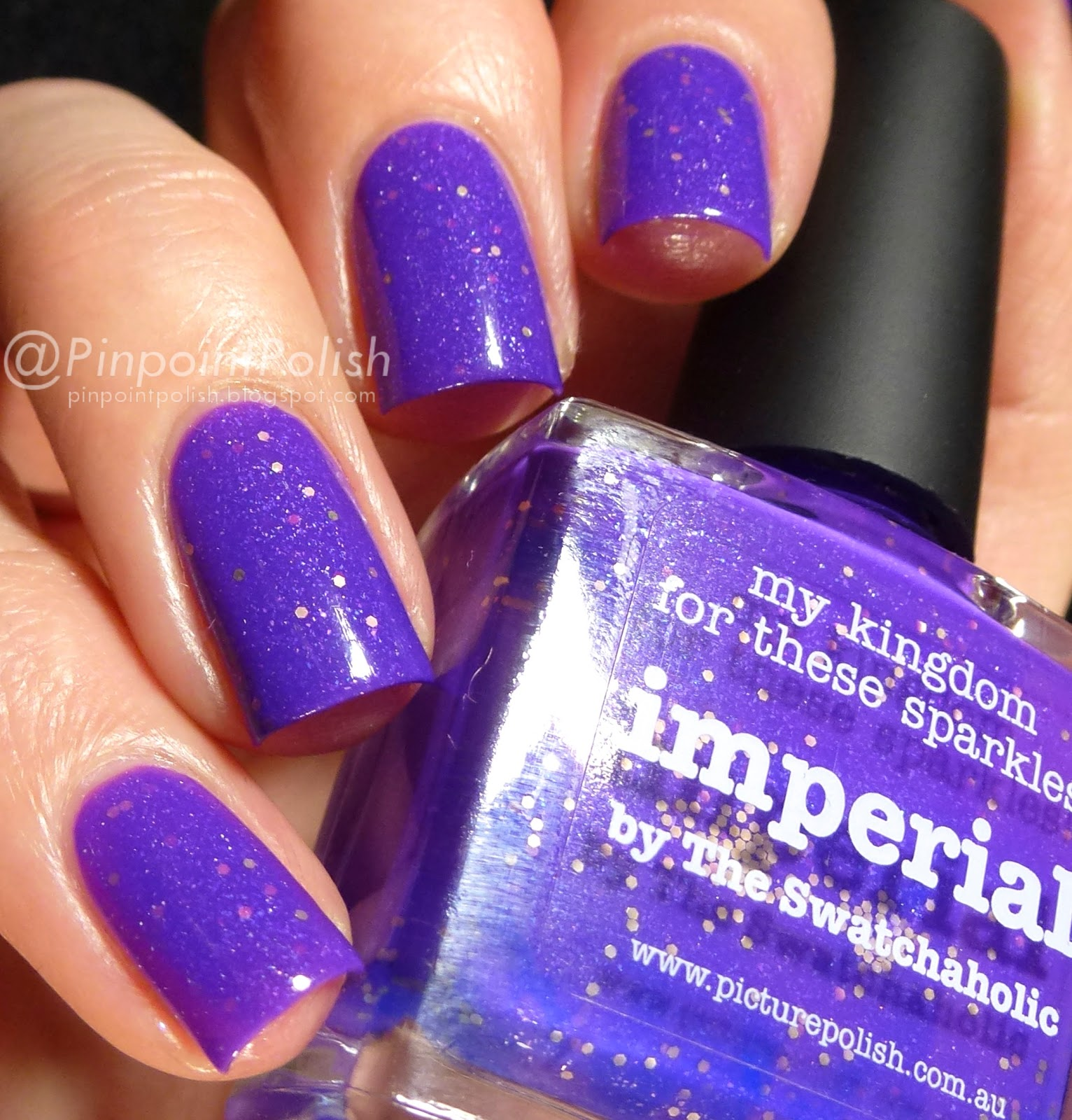 Imperial, picture polish, swatch