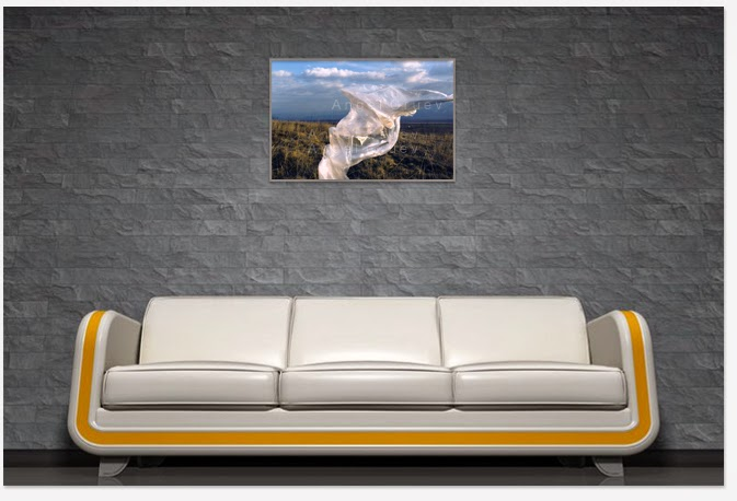 Interior decor decorated with a Masterpiece