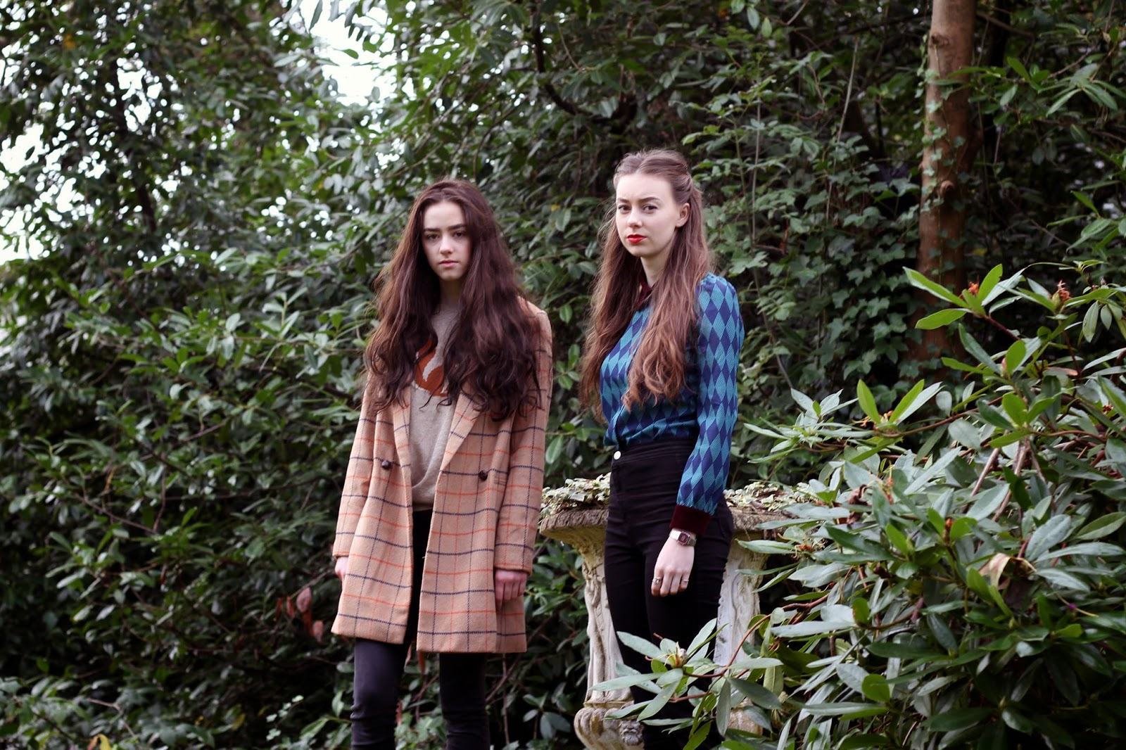 Miss Patina fashion vintage woods Grace Mandeville Sisters Amelia