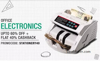 Office Electronics Extra Rs. 1000 Cashback on Rs. 2000