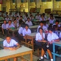 Werden in den Schulen in Thailand Werte vermittelt?