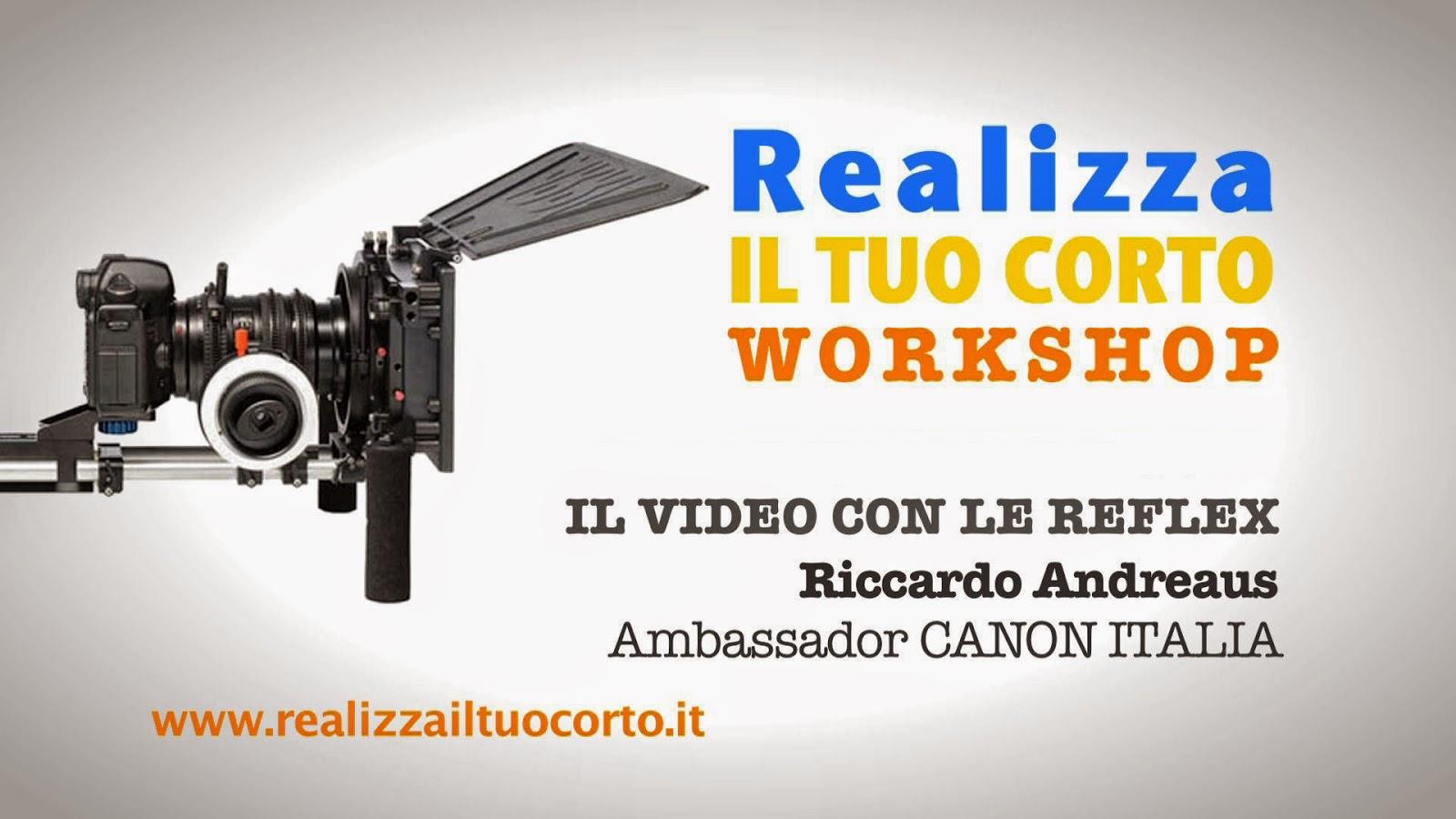 Le reflex per il video - workshop