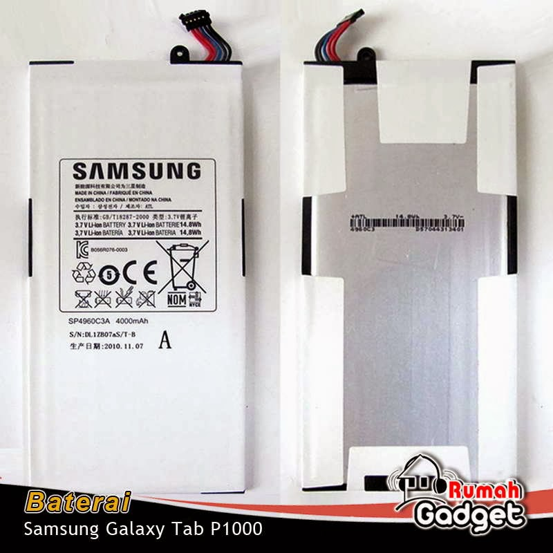 Baterai Samsung Galaxy Tab P1000 (korea)